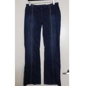 Jennifer Lopez Full Length Zippered Jeans